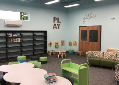 Lehighton Library Addition - Completed Interior