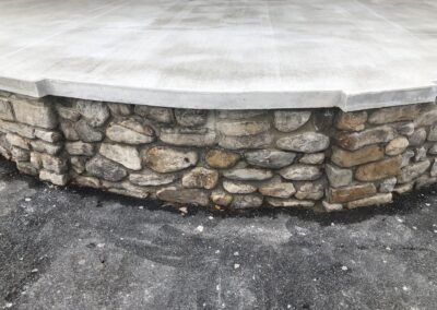 Weona Park Band Shell - Repointed Stone Work